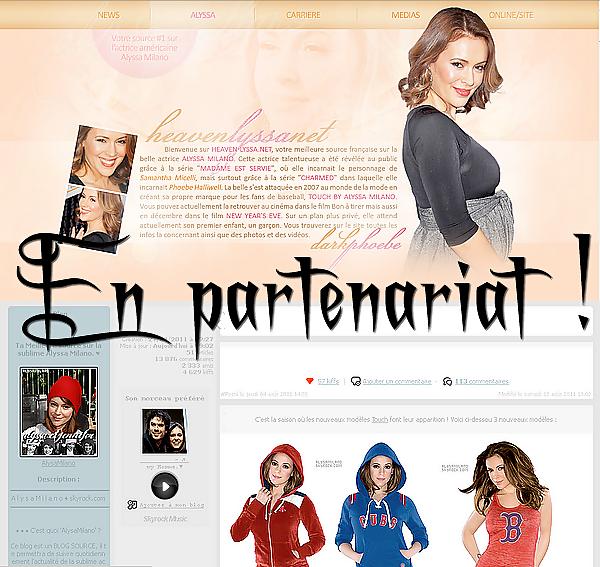 . Le blog en Partenariat avec un site  !   .