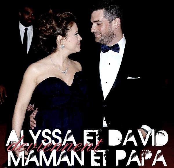 . ALYSSA et DAVID deviennent MAMAN et PAPA !  .