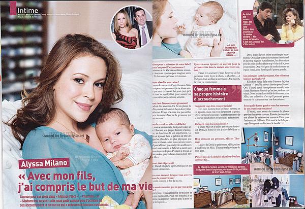 . Voici ci-dessous les scans du magazine Ciné Télé Revue et les scans de US Weekly.  .