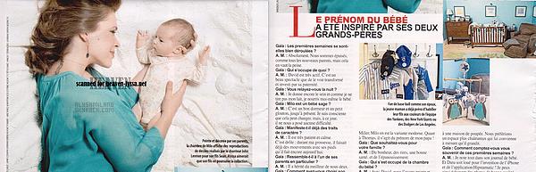 . Voici ci-dessous les scans du magazine français Gala. Avec 2 photos inédites.  .