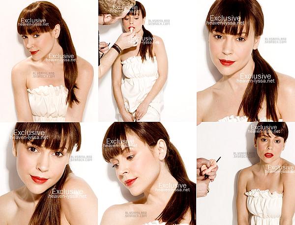 . Voici ci-dessous un photoshoot d'Alyssa datant de 2008 qui est totalement inédit. ( Merci à heaven-lyssa pour les photos. )  .