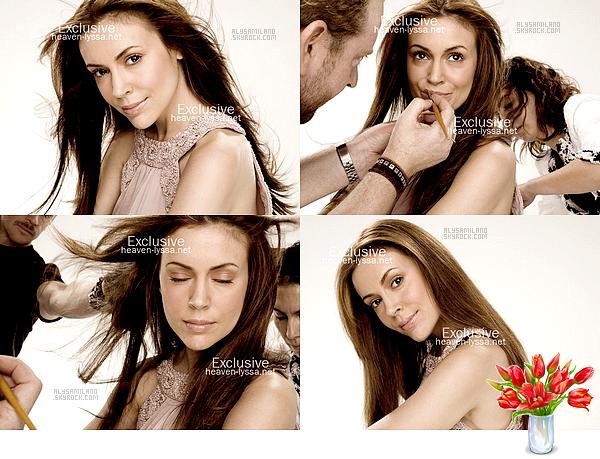 . Voici ci-dessous la 4ème partie du shoot datant de 2008. ( Merci à heaven-lyssa pour les photos. )  .