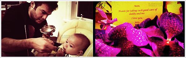 .  Voici (encore) les 2 dernières photos postée sur Twitter (la 1ère c'est sur le twitter de Cory et la 2ème c'est sur celui d'Alyssa) : .