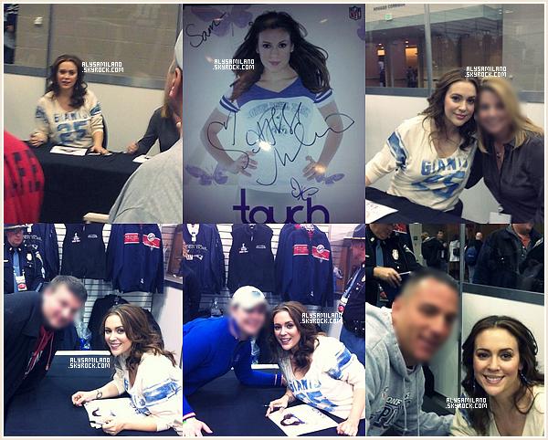.  Voici quelques photos de la scéance photos du 04.02, d'Alyssa et de ses fans. je suis jalouuse ! :mdr: .