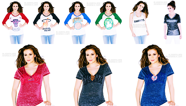 .  Voici de nouvelles modèles Touch , où Alyssa est le modèle.  donne ton avis ! .