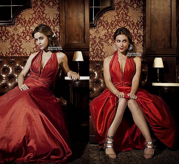 . NO DATE ▬ Voici un magnifique photoshoot d'Alyssa réaliser par Ash Gupta en 2008 :   .