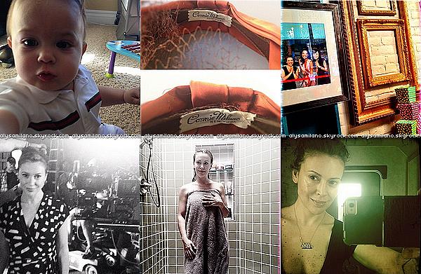 .  Sept. 2012 ▬  Je vous propose de voir toutes les photos que Alyssa a postée sur  Twitter en Septembre :.