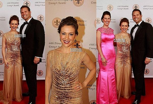 .  23 Septembre 2012 ▬  Voici des photos d'Alyssa à la soirée Pre Emmy. .