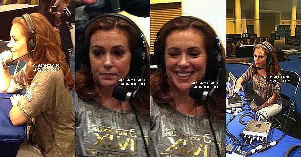 .  02.02.13 - Voici des photos d'Alyssa lors de son interview chez Radio Now. Mais aussi des VIDEOS (clique) : 01 , 02 , 03 , 04 , 05 , 06 , 07. (merci à ma partenaire : heaven-lyssa.net)