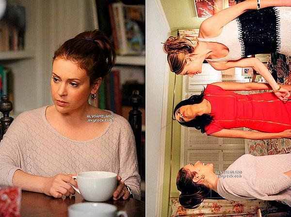 . Voici quelques nouvelles stills de Mistresses, toujours du premier épisode. Il me tarde trop de voir cet épisode, et les autres d'ailleurs! En plus Alyssa, est tellement belle et naturelle.