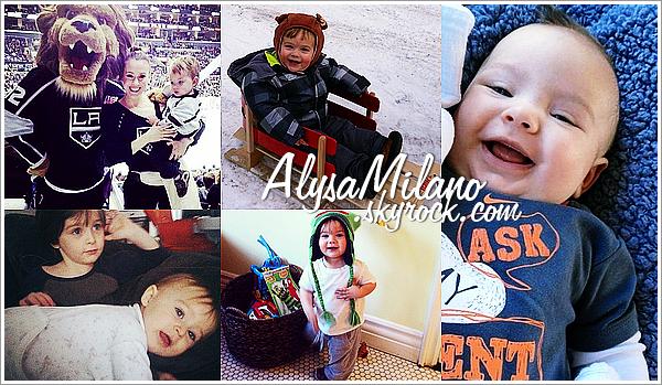 . Mars 2013 : Alyssa a postée de nouvelles magnifiques  photos sur Twitter.Encore une fois, beaucoup de Milo, mais j'ai envie de dire : on s'en lasse pas ! J'adore la 1ere et la 7ème.