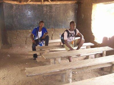 Village de Fongbé et de Adidokpo et inscriptions d'enfants (suite)