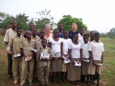 L'école de Tintchro financée par Myriam
