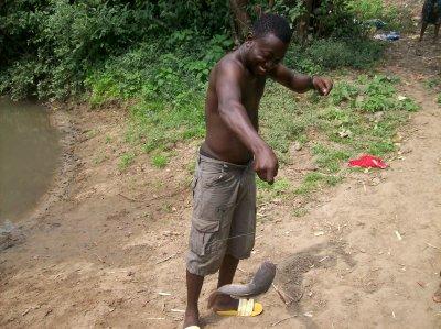 Journée de détente à Gati au Togo