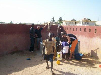Puit du centre d'accueil Sénégal 2011
