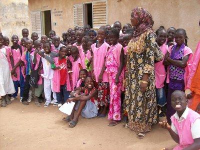 Ecole de N'Guérigne Sénégal juin 2011