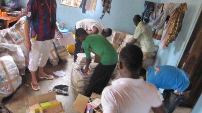 Colis pour le  Togo