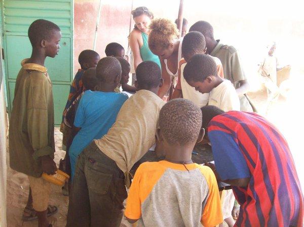 Remercîments Sénégal avril 2012