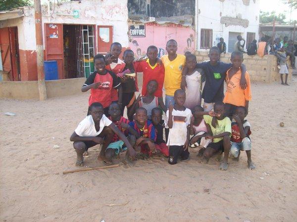 Tournoi de foot Sénégal Novembre 2012