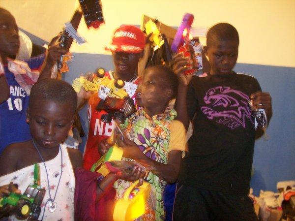 Noël au Togo à Gati et remerciement 2012