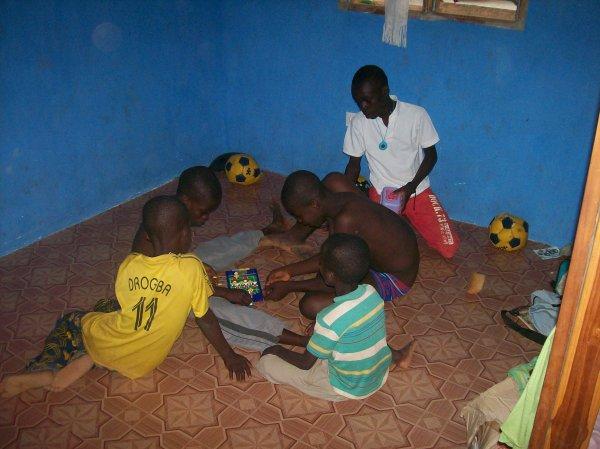 Match de foot Togo décembre 2012