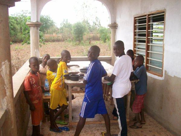 Marché de Tsévié Togo mars 2013