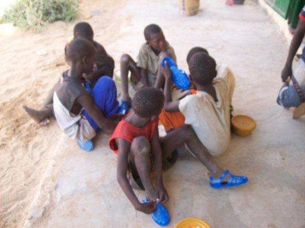 Centre d'accueil des enfants des rues Sénégal Saly juin 2013