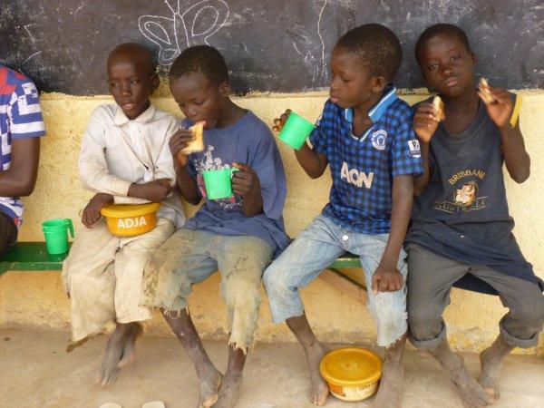 Remerciement Sénégal décembre 2013