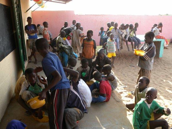 Noël 2013 à Saly au centre d'accueil au Sénégal