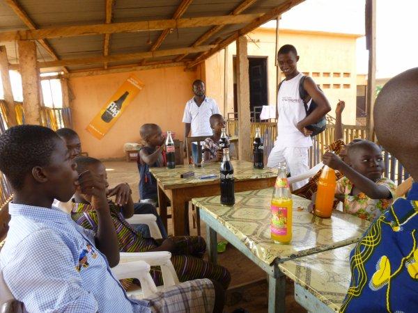 Nos orphelins à Gati Togo janvier 2014