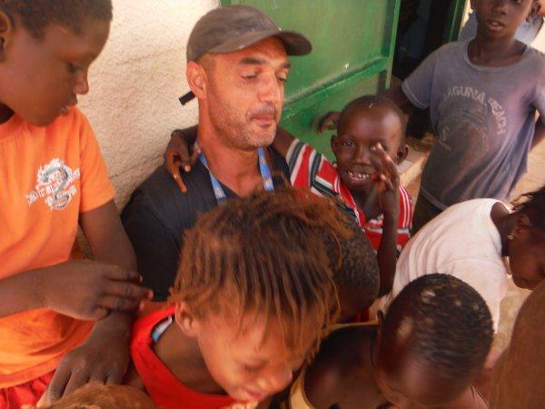 Tournoi de foot et remerciements Sénégal 2014