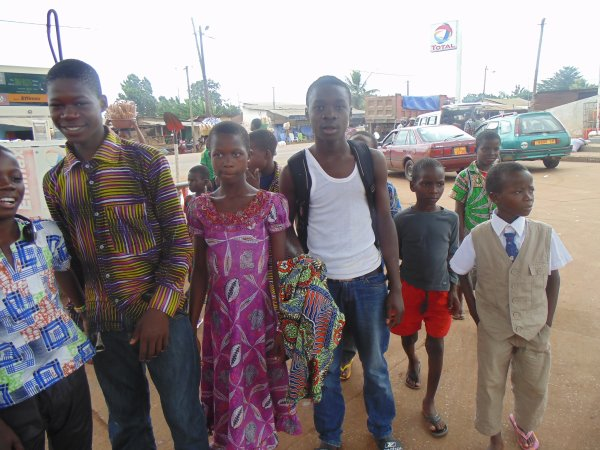 Orphelinat à Gati Togo aout 2014