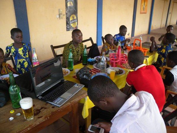 Nos orphelins Gati mars Togo 2015