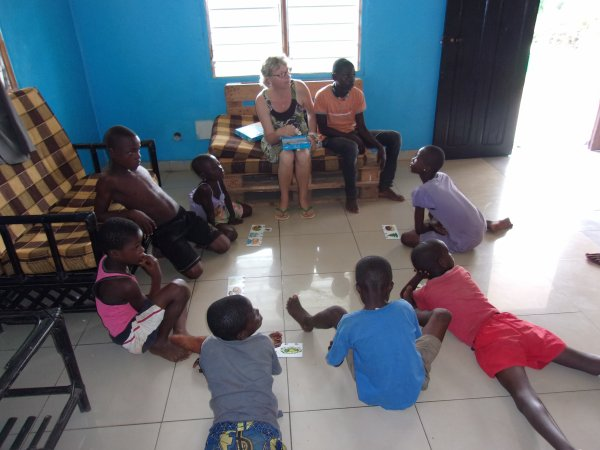 Nos orphelins Gati juin Togo 2015
