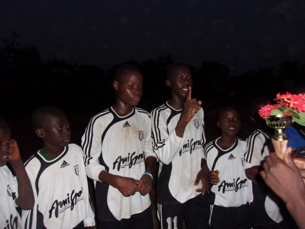 Tournoi de foot Togo juin 2015