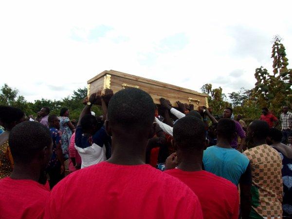 Funérailles de Prince Togo aout 2015