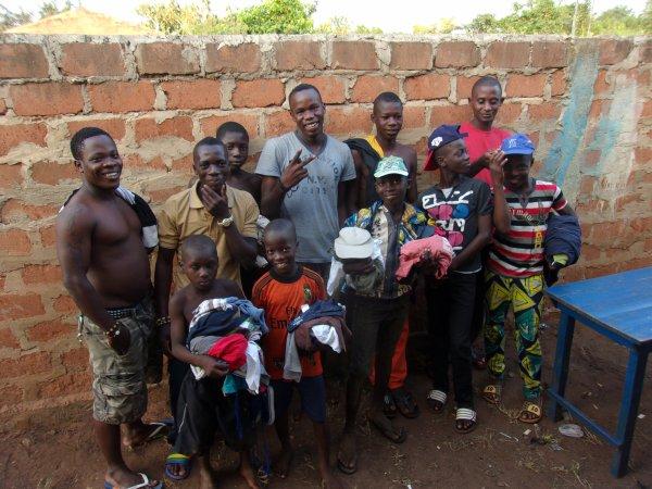 Cases de santé Togo Aout 2015