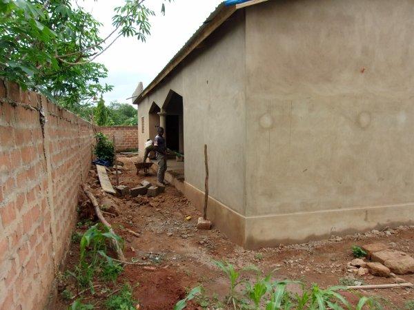 Notre orphelinat s'agrandi Togo aout 2015