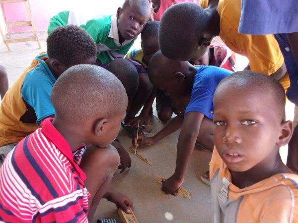 Tournoi de foot et remerciements Sénégal octobre 2015