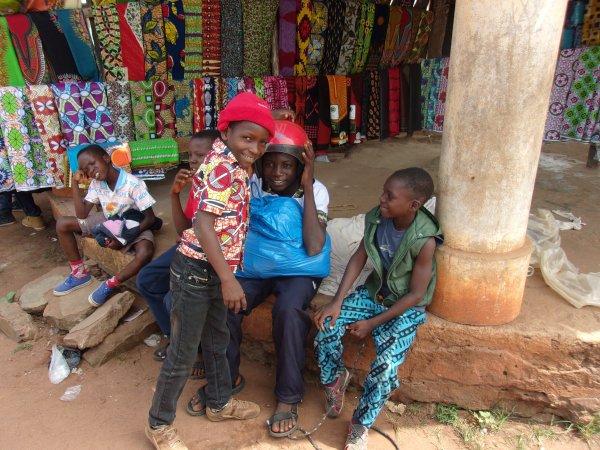 Sorties avec les orphelins et les enfants de Gati Togo décembre 2015