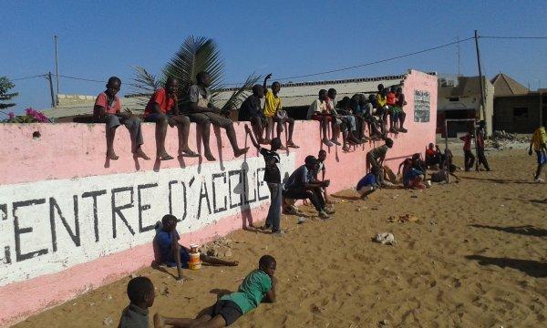 Tournoi de foot et remerciements Sénégal janvier 2016