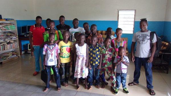 Nos orphelins de Gati au Togo mars 2016