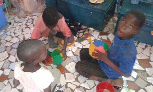 Centre d'accueil des enfants des rues à Saly au Sénégal avril 2016