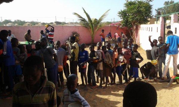 Parrainage à Saly au Sénégal avril 2016
