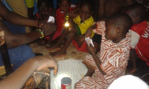 Nos orphelins de Gati au Togo juin 2016