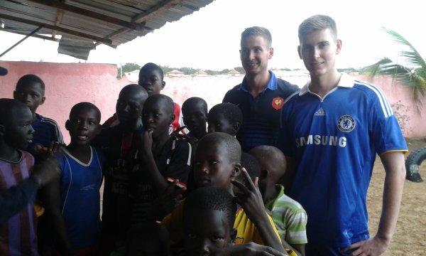 Parrainage à Saly au Sénégal juillet 2016