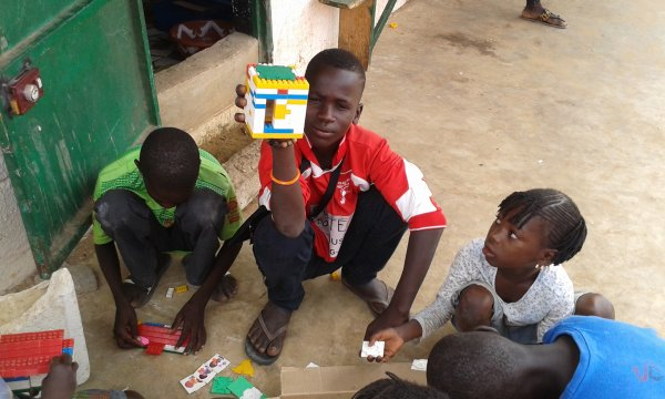 Tournois de foot au centre d'accueil des enfants des rues à Saly Sénégal juillet 2016