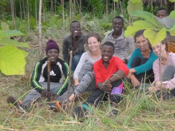 Remerciements à nos volontaires du mois d'aout Togo septembre 2016