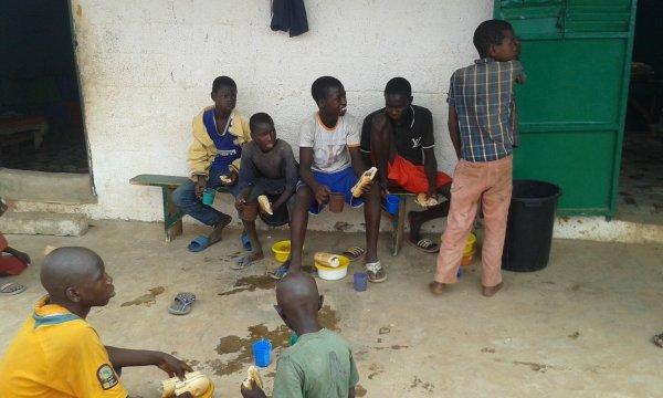 Parrainage à Saly au Sénégal octobre 2016