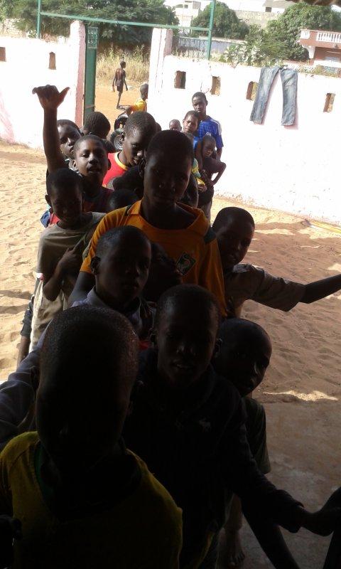 Parrainage à Saly au Sénégal novembre 2016